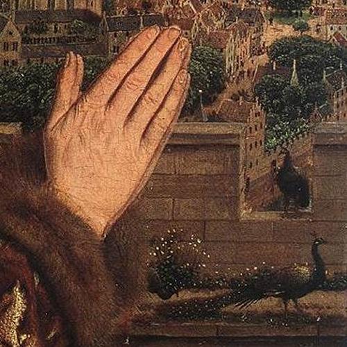Prier à partir d'une oeuvre d'art : La Vierge du chancelier Rolin ...