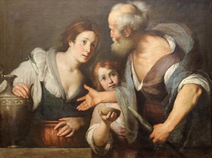 Elie, la veuve de Sarepta et son fils