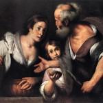 Bernardo Strozzi, Elijah and the Widow of Zarephath, Kunsthistorisches Museum, Vienna, 1630s